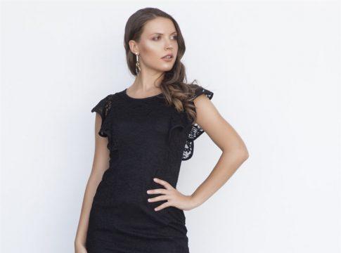 Siyah Dantel Elbise Nasıl Kombinlenir?